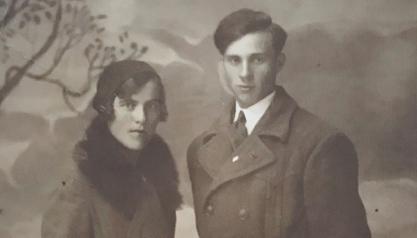 My parents - Anastazia Malinska (née Wickenhauser) and Kazimierz Malinski