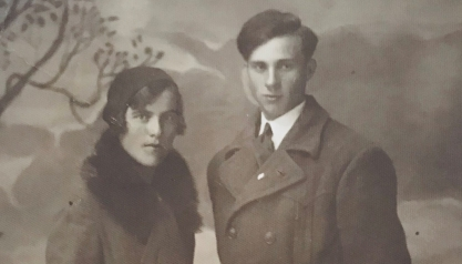 My parents - Anastazia Malinska (née Wickenhauser) and Kazimierz Malinski